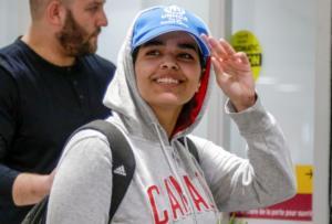 """Οδύσσεια τέλος για την 18χρονη Ράχαφ που το """"έσκασε"""" από τη Σαουδική Αραβία!"""
