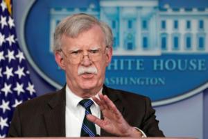 Μπόλτον για Συρία: Η άμυνα του Ισραήλ θα διασφαλιστεί