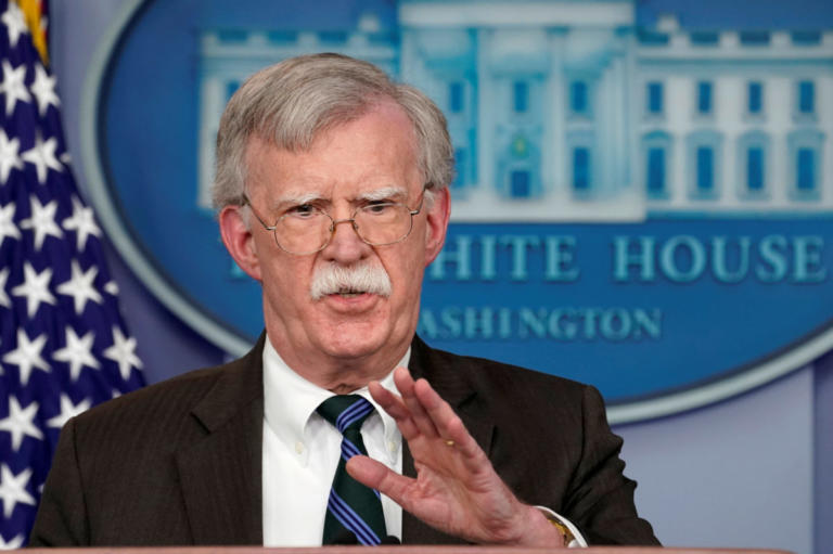 Μπόλτον για Συρία: Η άμυνα του Ισραήλ θα διασφαλιστεί | Newsit.gr