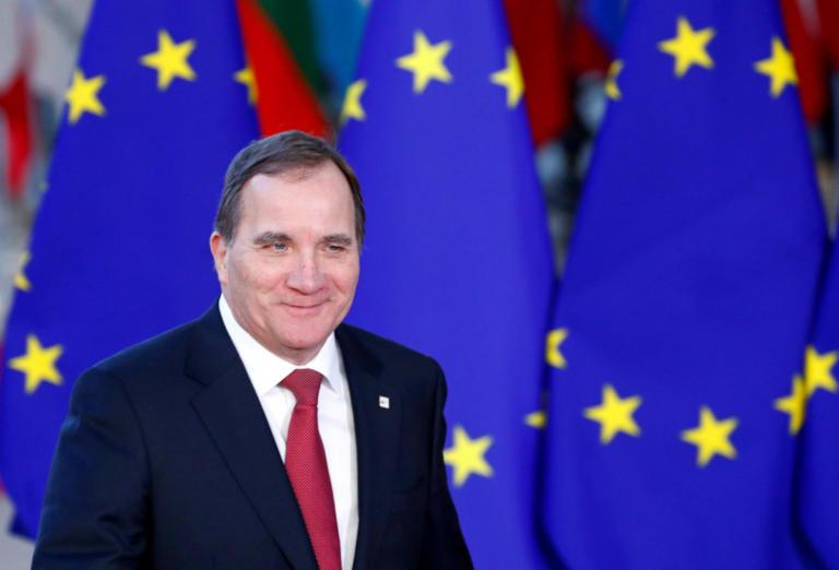 Κυβέρνηση μειοψηφίας στη Σουηδία: Στο «τιμόνι» και πάλι ο Στέφαν Λεβέν