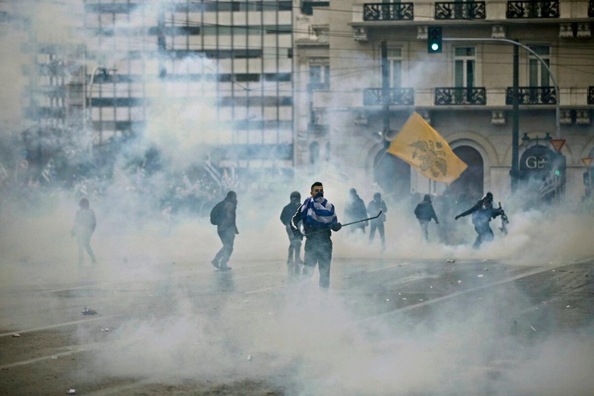 Μήνυση για χρήση ληγμένων χημικών στο συλλαλητήριο κατέθεσε ο Ιατρικός Σύλλογος Αθηνών