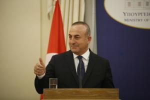 Τσαβούσογλου: Σεβόμαστε τις αποφάσεις του λαού και της Βουλής της «Μακεδονίας»