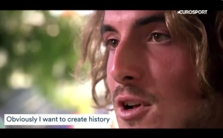 Τσιτσιπάς: «Θέλω να γράψω ιστορία! Ευχή μου να κερδίσω ένα Grand Slam» – video | Newsit.gr