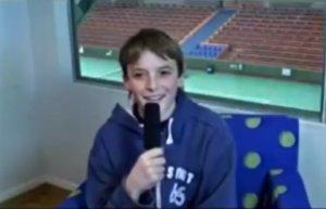 Ο… 13χρονος Τσιτσιπάς μιλάει για τον Φέντερερ και την κορυφή! video