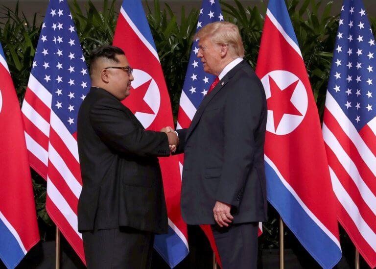 Ο Τραμπ έστειλε μια «πολύ φιλική» επιστολή στον Κιμ Γιονγκ Ουν!