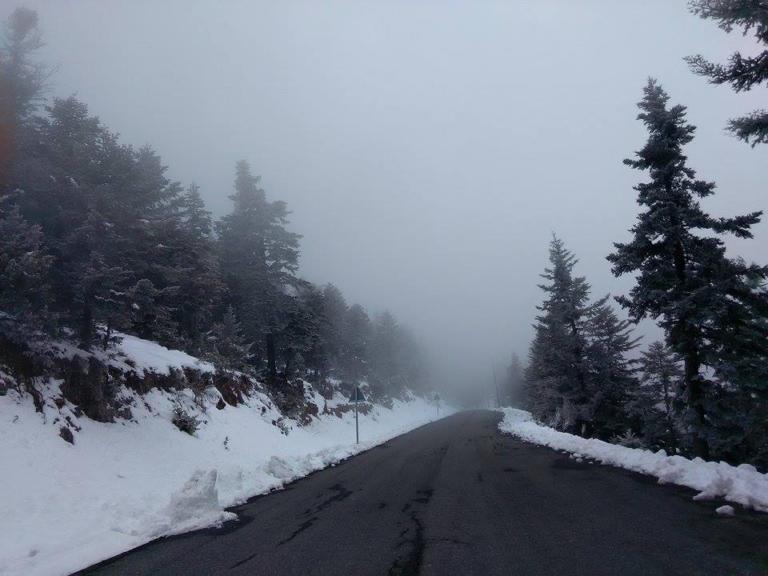 Καιρός live τα σημεία όπου χιονίζει αυτή την ώρα | Newsit.gr