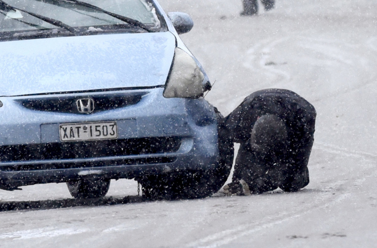 Αυτοί οι δρόμοι είναι ΤΩΡΑ κλειστοί σε Αθήνα και Θεσσαλονίκη (08/01)