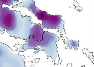 Καιρός: Πότε θα χιονίσει στην Αθήνα και που – Ο χάρτης της κακοκαιρίας