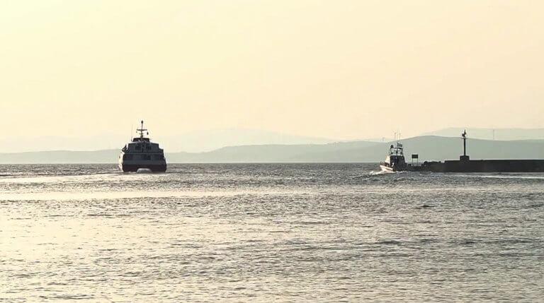 Πρόσκρουση πλοίου στο λιμάνι της Χίου   Newsit.gr