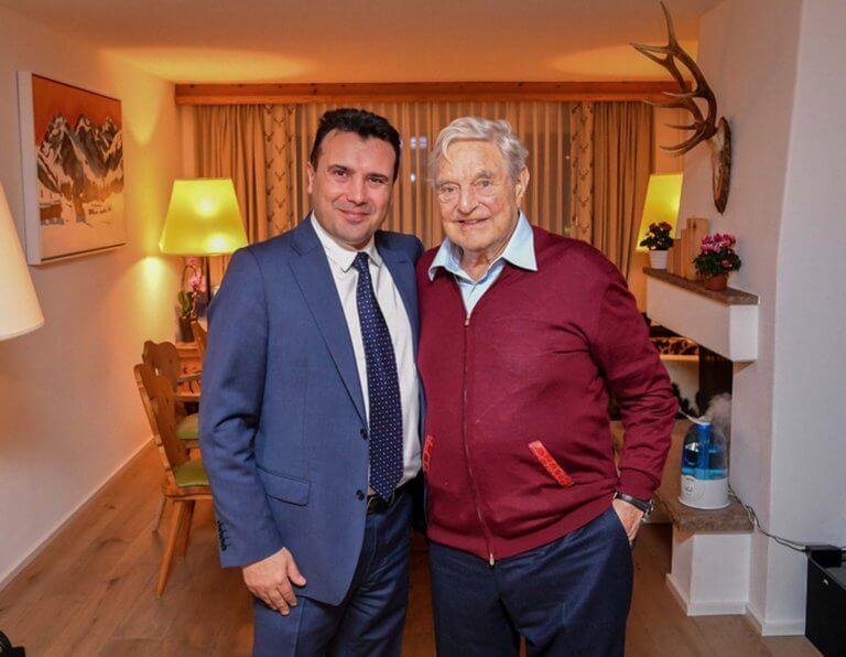 Μια αγάπη γεννιέται – Ο Ζόραν Ζάεφ ακολούθησε τον Τζορτζ Σόρος και στο twitter | Newsit.gr