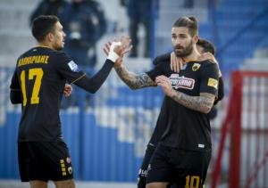 ΑΕΚ – Αστέρας Τρίπολης 3-0 ΤΕΛΙΚΟ