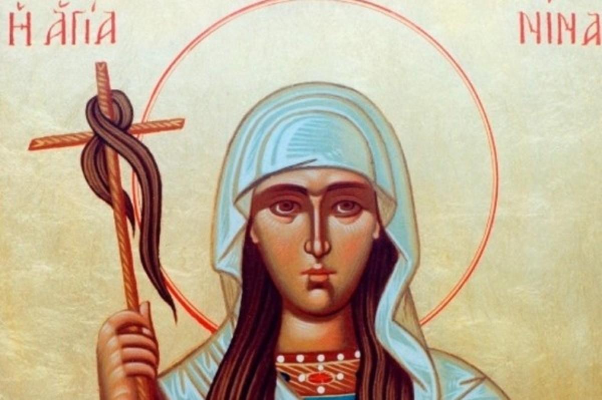 Σήμερα εορτάζει η Αγία Νίνα η Ισαπόστολος