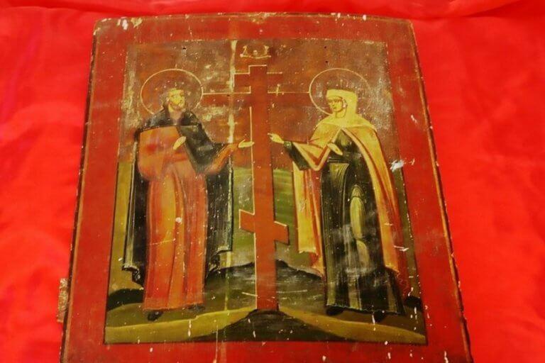 Θεσσαλονίκη: Έβγαλε στο σφυρί αυτή την αγιογραφία του 18ου αιώνα – Ζητούσε 2.000 ευρώ για να την πουλήσει [pic]