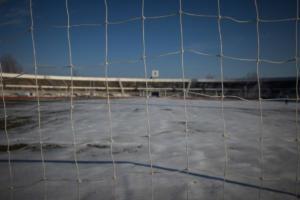 Τρίκαλα: Το χιόνι έβαλε stop στο θεσσαλικό ντέρμπι! [pics]