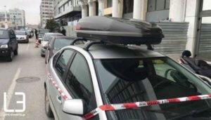 Συναγερμός για βλήμα από τον πόλεμο σε κτίριο της Θεσσαλονίκης – video