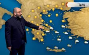 Αρναούτογλου για χιόνια σε Αθήνα και Θεσσαλονίκη – Τι καιρό θα κάνει τις επόμενες ώρες