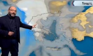 Αρναούτογλου για χιόνια στη Θεσσαλονίκη: «ΠΡΟΣΟΧΗ…»