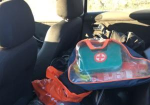 Άρτα: Η ακαταστασία στο πίσω κάθισμα του αυτοκινήτου και ο έλεγχος που έριξε περισσότερο φως [pics]
