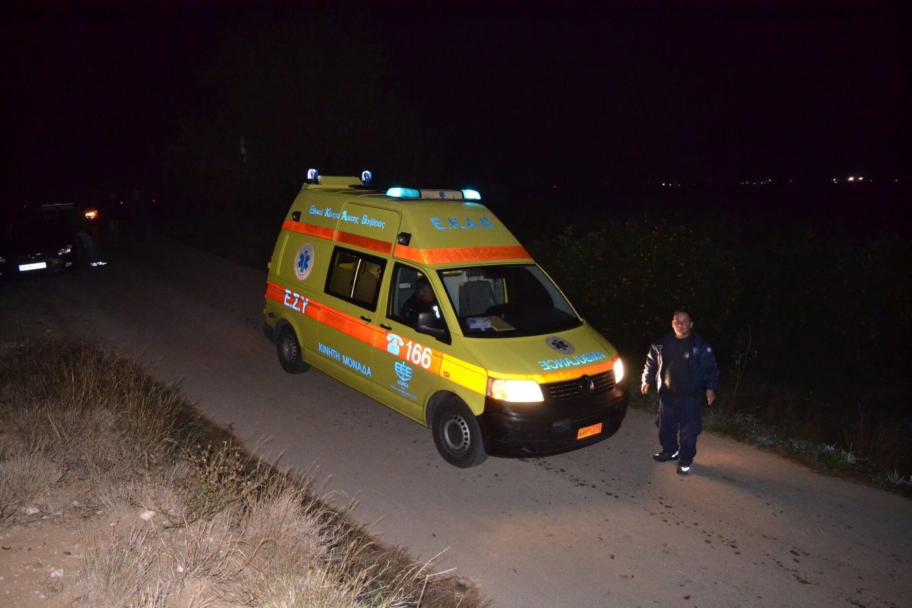 Κάλαμος: Αυτοκίνητο με έναν ηλικιωμένο έπεσε στη θάλασσα