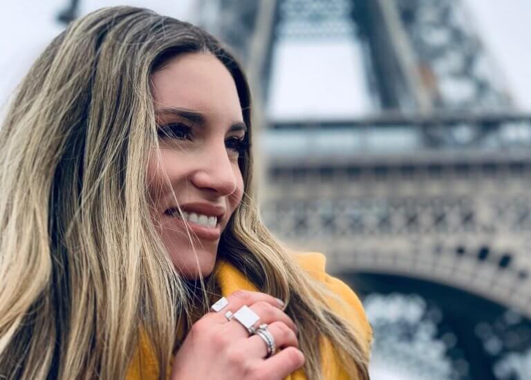 Αθηνά Οικονομάκου Gallery: Αθηνά Οικονομάκου: Έτσι περνάει στο Παρίσι με τις φίλες