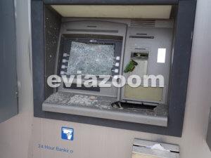 Εύβοια: Έσπασαν το ΑΤΜ στην είσοδο του σούπερ μάρκετ αλλά έφυγαν με άδεια χέρια [pics]