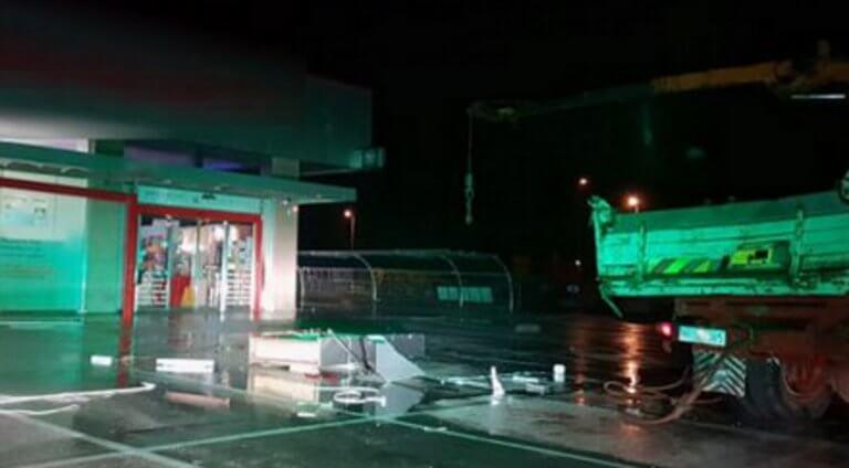 Καβάλα: Έκλεψαν φορτηγό και ξήλωσαν ΑΤΜ – Άφαντοι οι δράστες του χτυπήματος [pic] | Newsit.gr