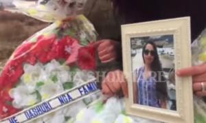Θρήνος στην κηδεία της άτυχης Αντζελίνας – video