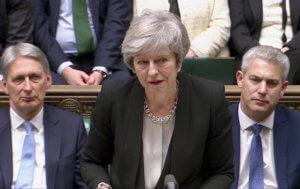 Brexit: Περισσότερο χρόνο ζητά από το κοινοβούλιο η Μέι