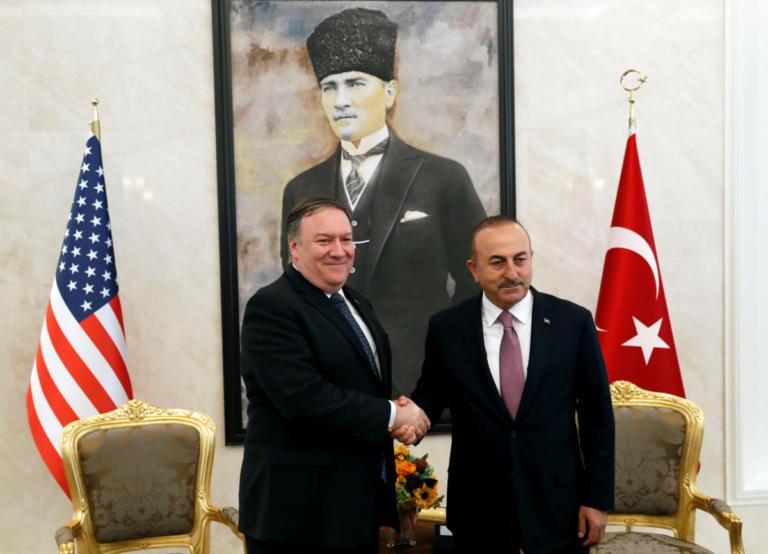 """Τα """"είπαν"""" τηλεφωνικώς Πομπέο και Τσαβούσογλου μετά από την """"έντονη"""" βδομάδα ΗΠΑ – Τουρκίας!   Newsit.gr"""
