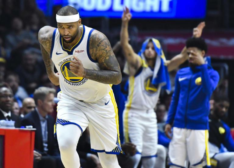 NBA: ΝτεΜάρκους Κάζινς, η επιστροφή! Εξαιρετικό ντεμπούτο με Γουόριορς – video | Newsit.gr