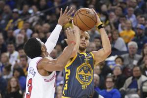 NBA: Έγραψε ιστορία ο Κάρι! Τρίτος κορυφαίος σουτέρ τριπόντων