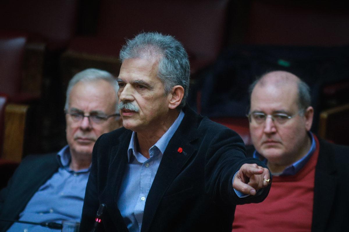 Βουλή Live - Δανέλλης: «Σταύρο εύχομαι στις Πρέσπες να μην κάνετε ούτε το έγκλημα ούτε το λάθος»