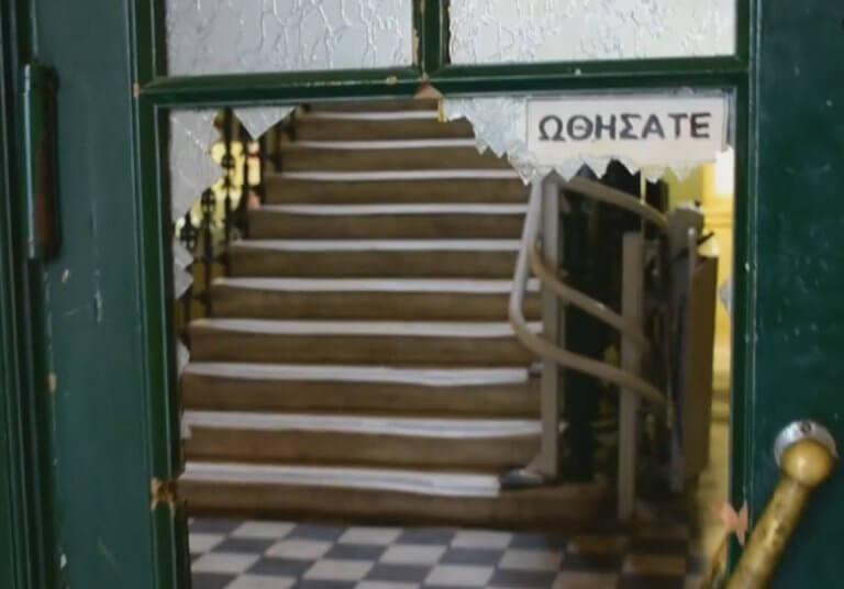 Ναύπλιο: Τα έσπασε στο δικαστήριο μόλις ανακοινώθηκε η απόφαση – Οι ζημιές στην κάμερα – video