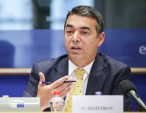 Ντιμιτρόφ σε Ε.Ε: Οι υποσχέσεις δεν αρκούν, εντάξτε μας