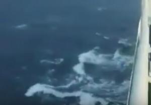 Χανιά: Βγήκαν στο κατάστρωμα και είδαν αυτές τις εικόνες – Το πλοίο Έλυρος και το απρόοπτο ταξίδι του – video