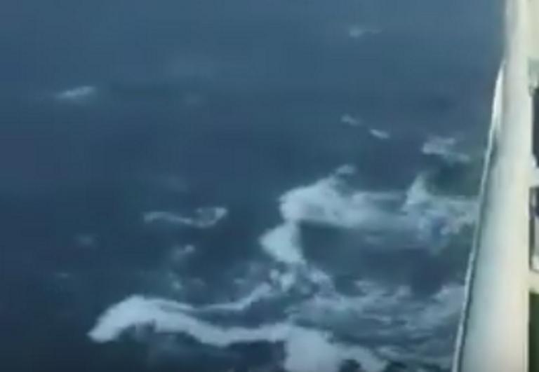 Χανιά: Βγήκαν στο κατάστρωμα και είδαν αυτές τις εικόνες – Το πλοίο Έλυρος και το απρόοπτο ταξίδι του – video | Newsit.gr