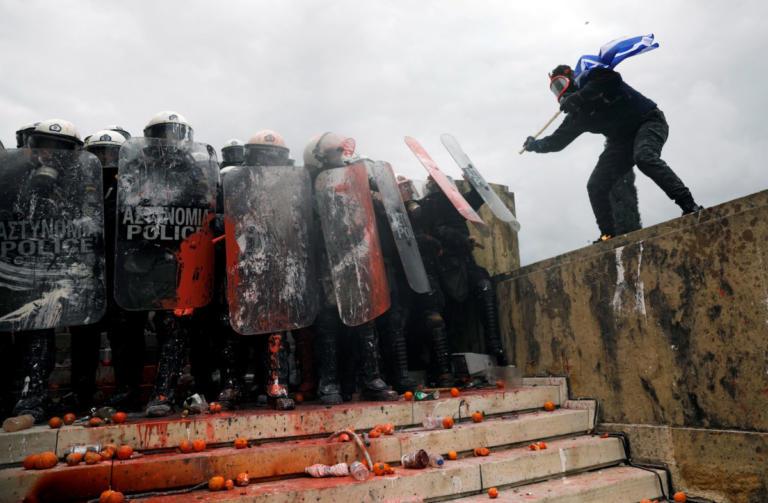 Μαξίμου: Ακραίοι και χρυσαυγίτες έκαναν τα επεισόδια στο Συλλαλητήριο για την Μακεδονία