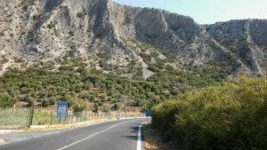 Λέσβος: Υποχώρησε ο δρόμος – Διακοπή της κυκλοφορίας στην Ε.Ο. Καλλονής – Μυτιλήνης
