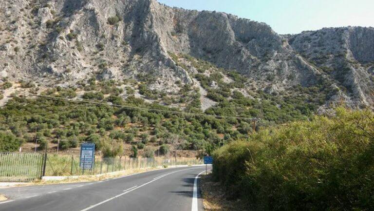Λέσβος: Υποχώρησε ο δρόμος – Διακοπή της κυκλοφορίας στην Ε.Ο. Καλλονής – Μυτιλήνης | Newsit.gr