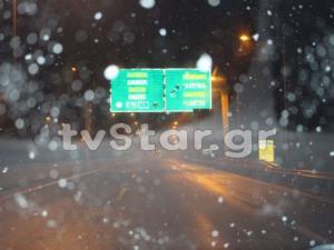 Φθιώτιδα: Σφοδρή χιονόπτωση από το Κάστρο μέχρι τη Ριτσώνα [pics]