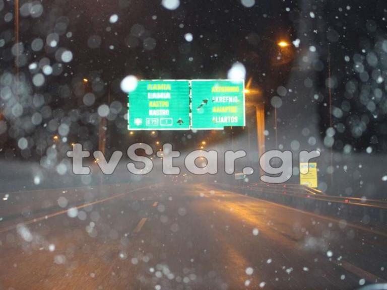 Φθιώτιδα: Σφοδρή χιονόπτωση από το Κάστρο μέχρι τη Ριτσώνα [pics] | Newsit.gr
