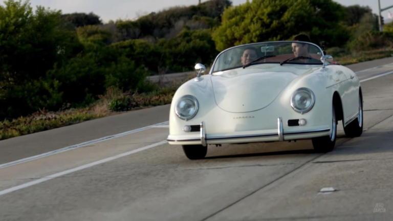 Μια Porsche 356 Speedster που έγινε… ηλεκτρική [vid]