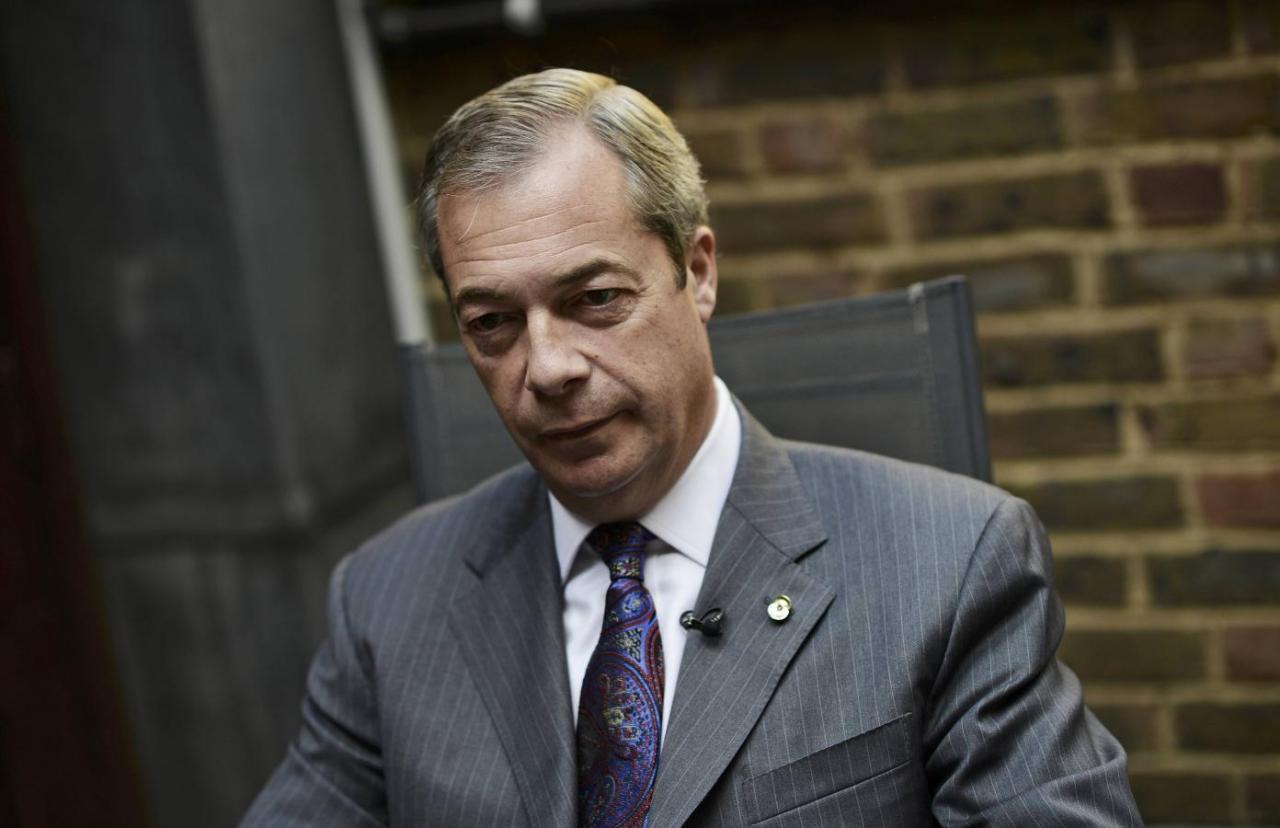 Φάρατζ: Πιθανόν το Brexit να καθυστερήσει και να γίνει νέο δημοψήφισμα