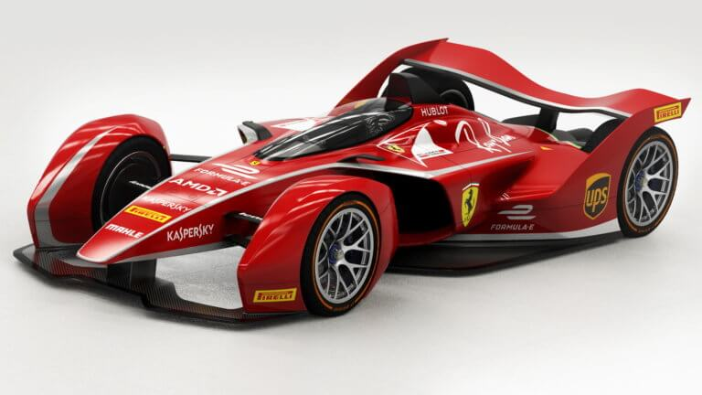 Έτσι θα μοιάζει η πρώτη ηλεκτρική φόρμουλα της Ferrari!