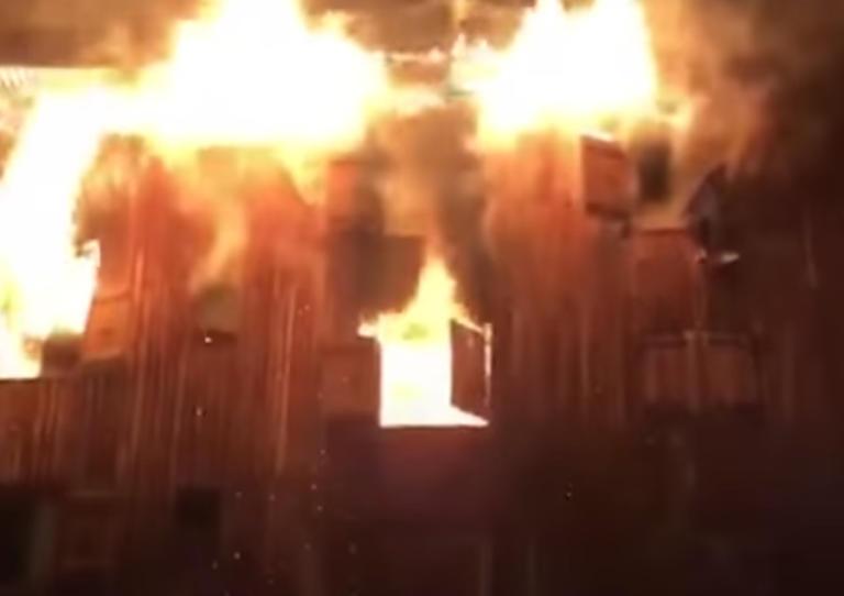 Άλπεις: Δύο νεκροί και 20 τραυματίες από φωτιά σε ξενοδοχείο – video