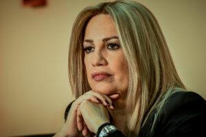 Γεννηματά: Όποιος λοξοκοιτάζει προς Τσίπρα ή Μητσοτάκη δεν έχει θέση ανάμεσά μας