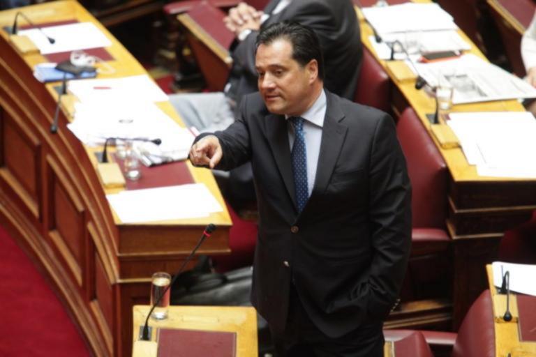 Άγριος καβγάς Άδωνι Γεωργιάδη – Τασίας Χριστοδουλοπούλου στη Βουλή – Video | Newsit.gr