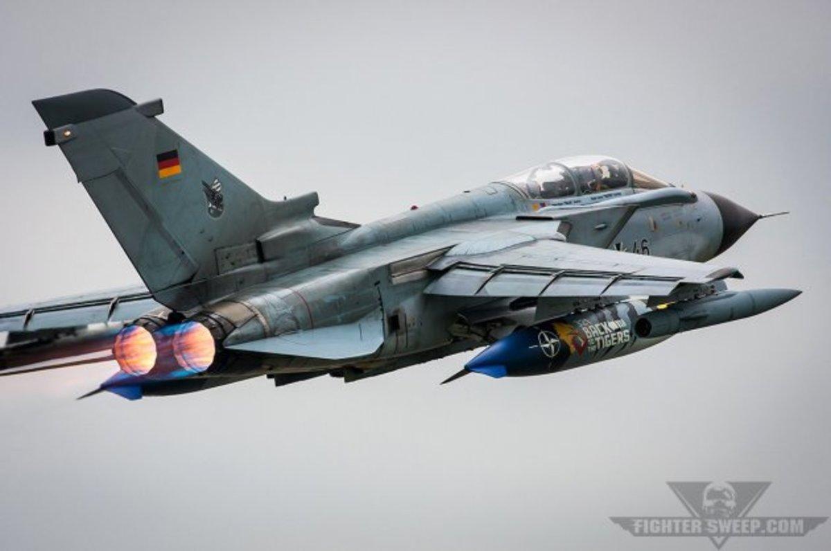 Είναι για το μουσείο τα μαχητικά Tornado της Γερμανικής Πολεμικής Αεροπορίας! [pics,vid]
