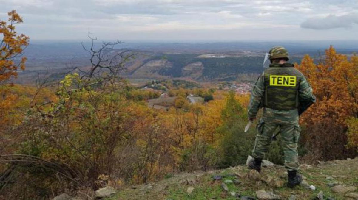 Αυτό είναι το επικίνδυνο έργο του Τάγματος Εκκαθάρισης Ναρκοπεδίων Ξηράς για τον Δεκέμβριο! [pics] | Newsit.gr