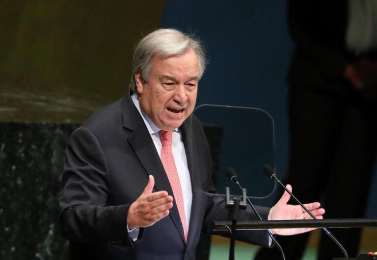 Γκουτέρες: Η συμφωνία των Πρεσπών ενισχύει την ειρήνη και την ασφάλεια στην περιοχή